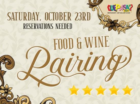 Food & Wine Pairing Dinner